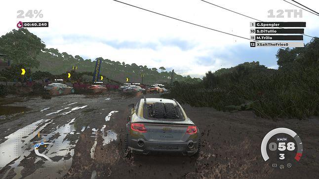 Zrzut ekranu z gry Dirt 5 na Xbox Series X