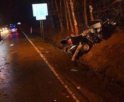 Znów BMW. Dwóch zabitych w wypadku pod Tarnowem. Komentarz policjanta