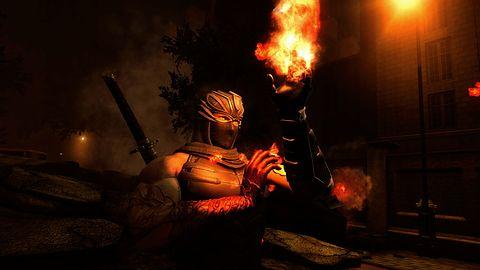 Ryu to malarz - jego farbą jest krew, a pędzlem miecz