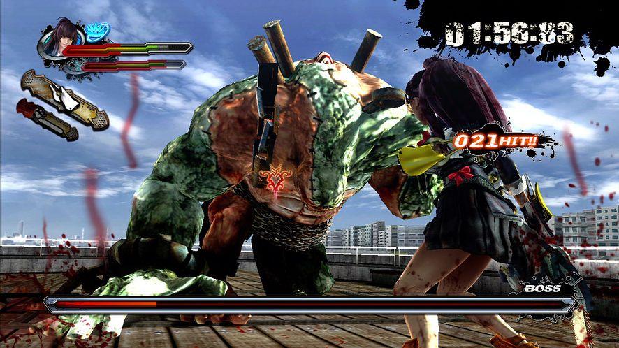 Krew i miecze w Ninja Gaiden 3 [Galeria]