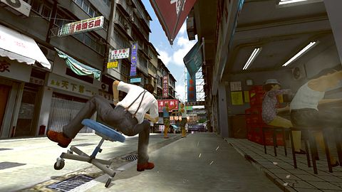 Kung Fu Rider - gra na Move, która powinna być na Kinecta