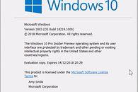 Kolejna niewiele wnosząca, przez co szybko o niej zapomnicie, kompilacja, czyli Windows 10 w odsłonie 18219