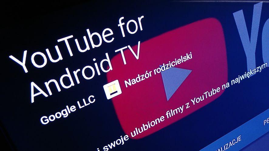 YouTube na Androidzie TV dostał aktualizację