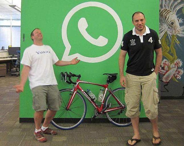 Twórcy WhatsAppa, Brian Acton oraz Jan Koum