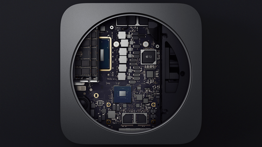 Apple T2 w Macu Mini 2018 / Apple