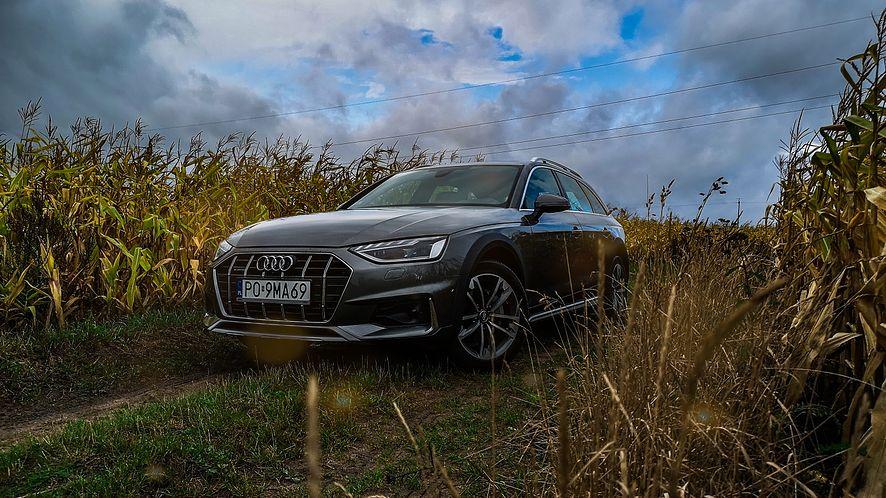 Odświeżone Audi A4 wyróżnia się przede wszystkim zmienioną grafiką świateł