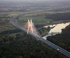 Wrocław. Wypadek samochodowy na A8. AOW sparaliżowana