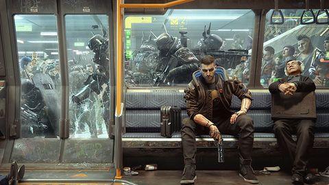 Porzucone lokacje w Cyberpunku 2077 i wsteczny komentarz CD Projekt Red