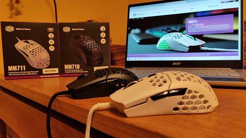 Myszki dla graczy Cooler Master MM710 vs MM711. Czy podświetlenie robi aż tak wielką różnicę?