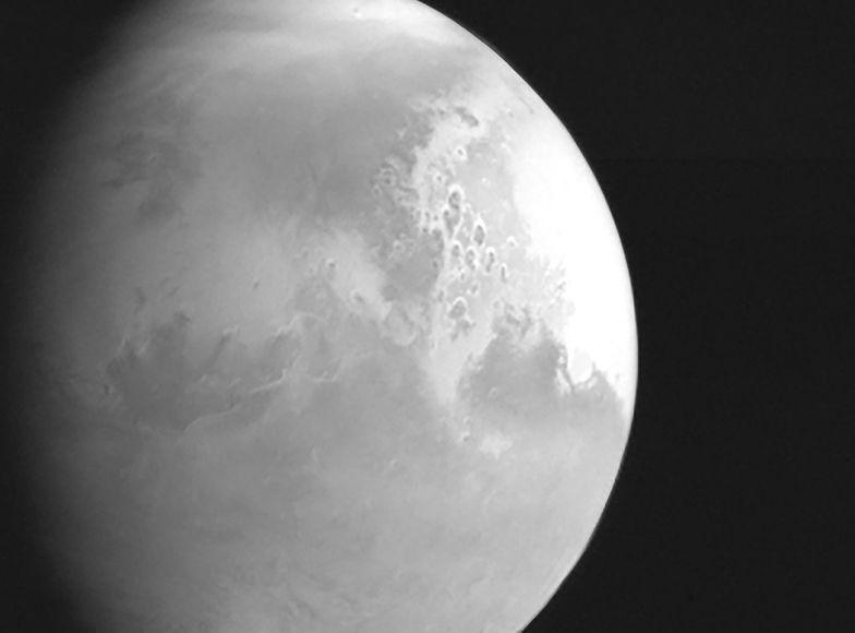 Historyczna chwila. Chiny pokazały zdjęcie Marsa