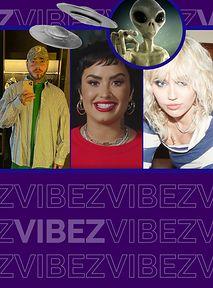 7 celebrytów, którzy zakumplowali się z UFO zanim zrobiło to Demi Lovato