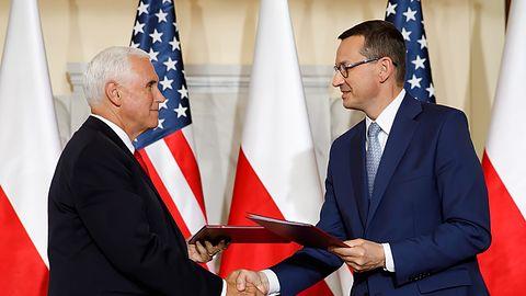 Polska bez Huawei. Trump nie przyjechał, ale umowa z USA została podpisana