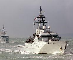 """Brytyjskie okręty w gotowości. """"Ostatnie ostrzeżenie dla Brukseli"""""""