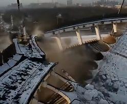 Rosja. Zawalił się dach stadionu w Petersburgu. 29-latek nie żyje