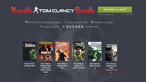 Tom Clancy byłby dumny z nowego Humble Bundle