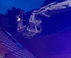 Lubelskie: włamywacz ukrył się na dachu. Policja ściągnęła strażaków