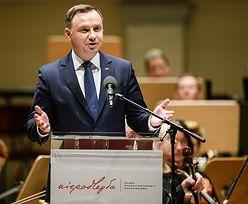"""Andrzej Duda komentuje postanowienie TSUE. """"Dziwi mnie ta sytuacja"""""""