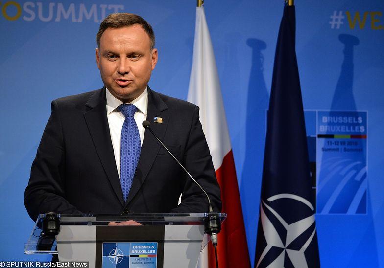 Andrzej Duda liczy na poprawę stosunków z Ukrainą