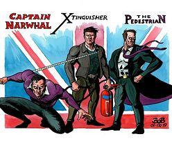 Kapitan Narwal: Polak z Londynu nowym superbohaterem
