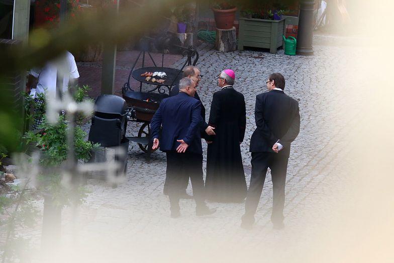 Imprezę urodzinową arcybiskup zorganizował w swojej rezydencji przy Parafii św. Ignacego Loyoli w Gdańsku