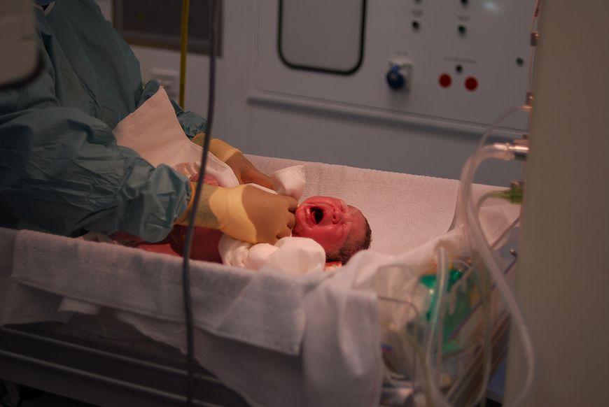 Pierwsze badanie noworodka
