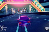 Neonowy Blok wschodni na zwiastunie Electro Ride