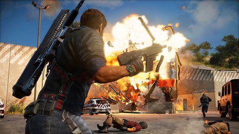 Just Cause 3 - pierwszy zwiastun prezentujący grę w akcji