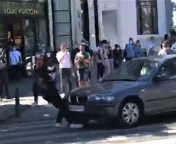 Koszmar w Paryżu. BMW otoczone przez uzbrojonych policjantów [WIDEO]