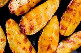 Ziemniaki z grilla i papryka z sosem barbecue
