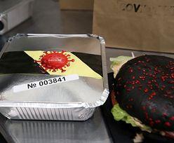 """Restauracja z Rosji zaskakuje nowym menu. W nim """"COVID-burger"""""""
