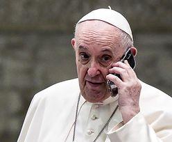 Papież odebrał tajemniczy telefon. Pierwsza taka sytuacja w historii. Watykan milczy