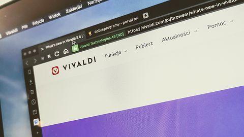 Vivaldi 2.4 – przeglądarka z twoim własnym interfejsem
