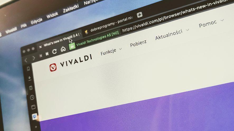 Vivaldi 2.4 pozwala dowolnie modyfikować interfejs
