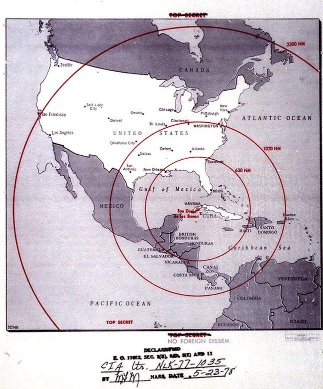 Kryzys kubański sprawił, że czas reakcji na atak atomowy stał się... minimalny.