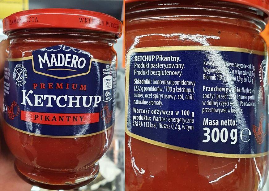 """""""Madero""""  Ketchup Premium"""