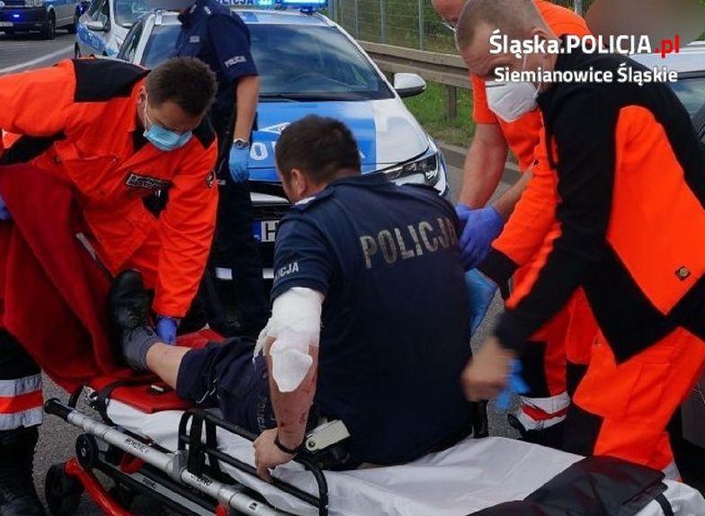 Potrącił policjantów w trakcie ucieczki. Recydywista już w areszcie