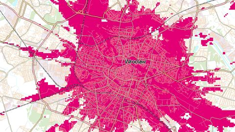 T-Mobile rozbudowuje sieć 5G. Są nowe mapy zasięgu
