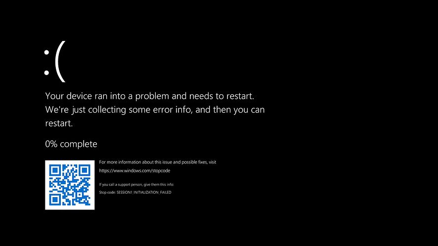 BSOD w testowym Windows 11