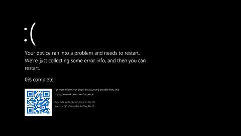 Koniec niebieskiego ekranu śmierci. BSOD w Windows 11 będzie... czarny