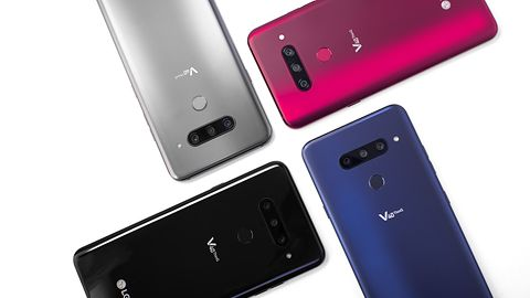 LG V40 ThinQ: łącznie 5 aparatów – każdy z innym kątem widzenia