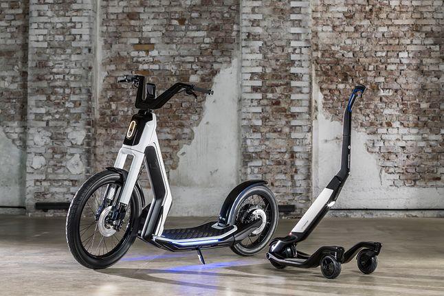 Pomysł Volkswagena na miejskie, elektryczne pojazdy to nie tylko eGolf, źródło: TechCrunch.