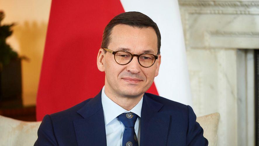 Premier Mateusz Morawiecki chce powrotu do podatku cyfrowego, fot. Niklas Halle'n – WPA Pool/Getty Images