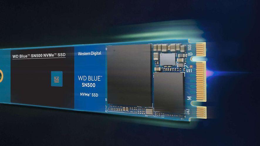 WD Blue sn500 NVMe