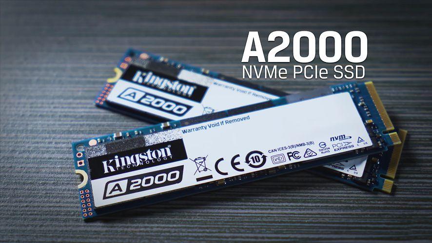 Kingston A2000 M.2 PCIe 3.0 NVMe SSD (fot. Kingston)