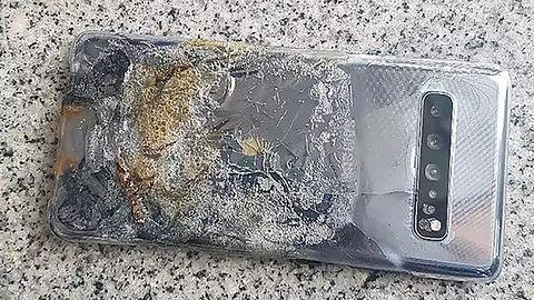 Koniec z płonącymi smartfonami? Nie tym razem – zapalił się Samsung Galaxy S10 5G