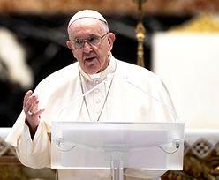 """Papież sprzeciwia się włoskiej ustawie. """"Bezprecedensowy akt"""""""