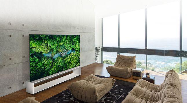 LG OLED ZX, 88-calowy telewizor 8K, fot. LG