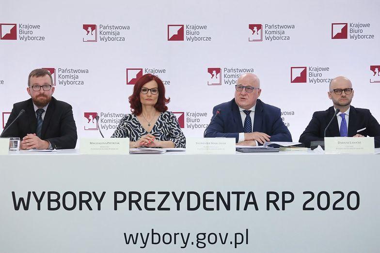 Wybory 2020. PKW poinformowała o zakończeniu wyborów i przebiegu głosowania