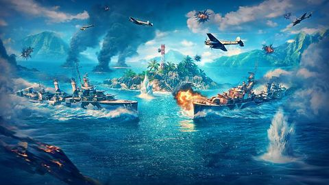 Październikowa aktualizacja World of Warships Legends!