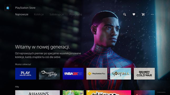 PlayStation 5 - PS Store